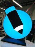Ростовая фигура Логотип с внутренним подсветом